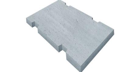 Плиты железобетонные для покрытия трамвайных путей